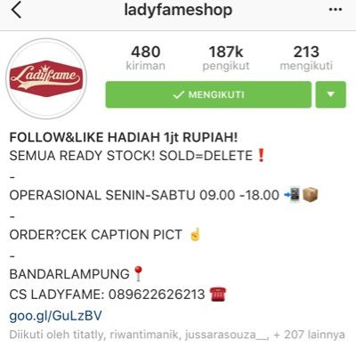 ladyfameshop