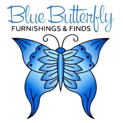 Blue Butterfly Furn