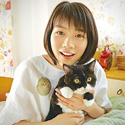 猫と能年玲奈