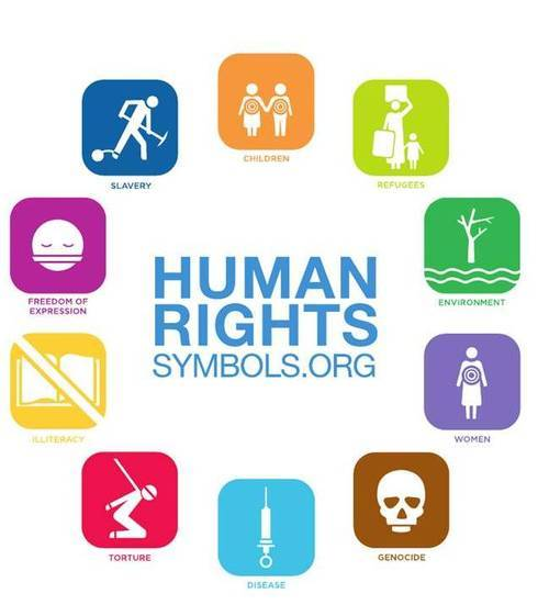 Official Human Right Symbol