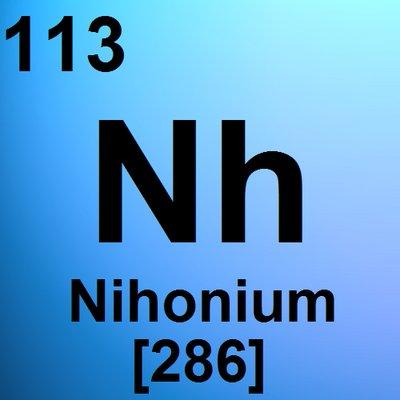 Nihonium (@Nihonium) | Twitter