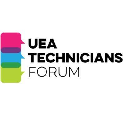 UEA Technicians Forum on Twitter: \
