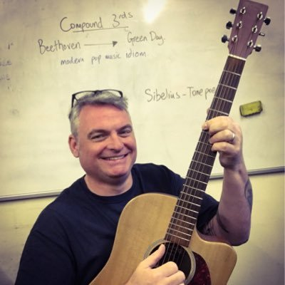 The Guitar Teacher | Social Profile