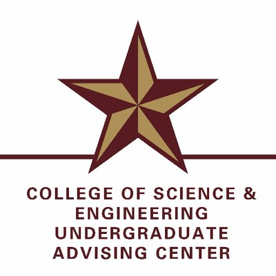 TXST COSE Advising on Twitter: