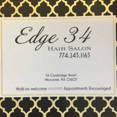 Edge 34 hair salon edge34hairsalon twitter - Beauty salon cambridge ma ...