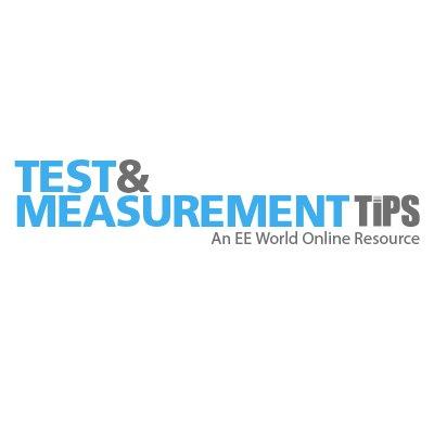 Test&MeasurementTips on Twitter: