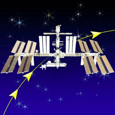 17:55から国際宇宙ステーションが東京上空を仰角35.7度、-2.6等級で通過します https://t.co/W8wpDJJeip ISS https://t.co/EI0bZiWBlD