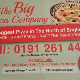 Big Pizza Company At Bigpizzacompany Twitter