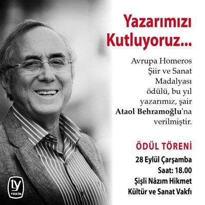 Ataol Behramoğlu At Abehramoglu Twitter