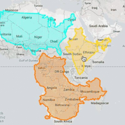 True Size Map Of The World.The True Size Thetruesize Twitter