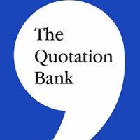 The Quotation Bank (@QuotationBank) Twitter profile photo