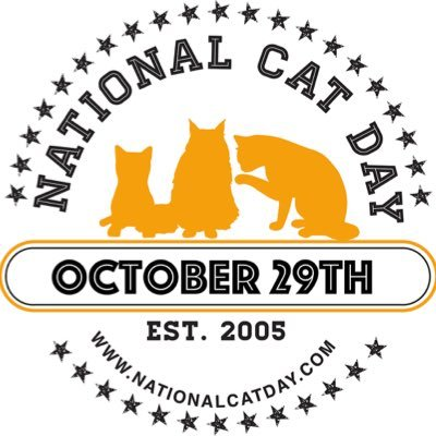 Nationalcatday On Twitter Happy National Cat Day Nationalcatday Catday