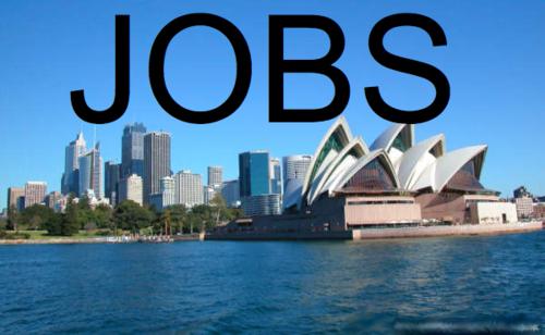 Jobs jobs jobs sydney