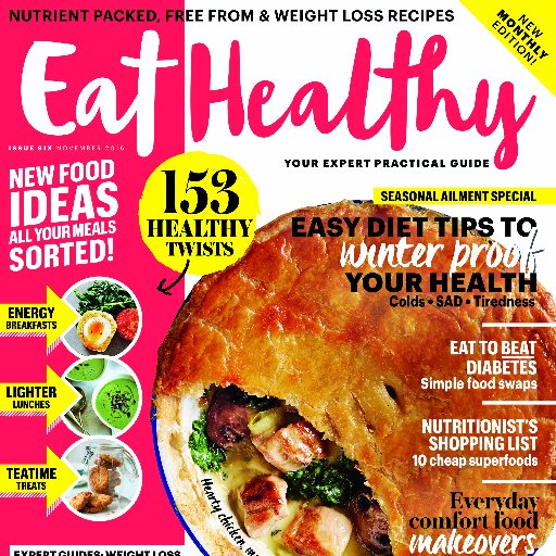 Eat healthy magazine eathealthymag twitter eat healthy magazine forumfinder Gallery