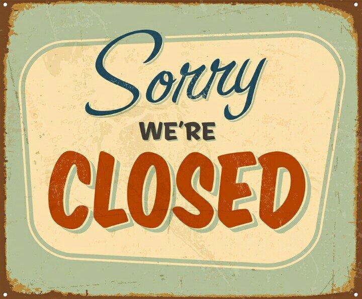 Were Closed