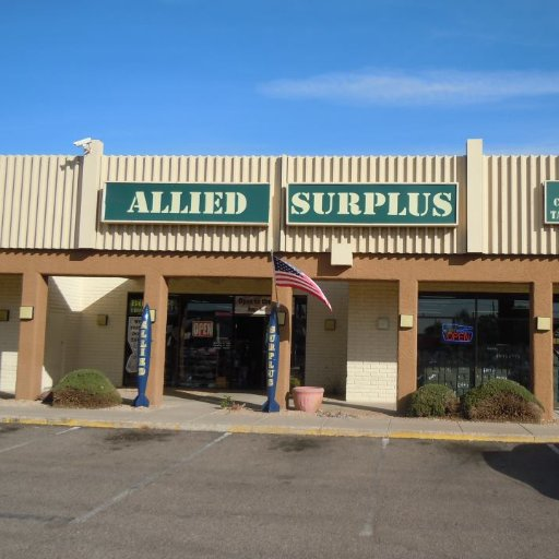 Our physical store is located in Apache Junction, Arizona so feel free to come in and check us out. On top of the Military Surplus we also make customized items such as shirts, hats, license plates and frames, dog tags, coffee mugs, beer steins, and vinyl stickers.