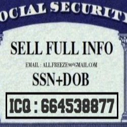 SELL CC+ FULL INFO (@SSNDOBFULZZ) | Twitter