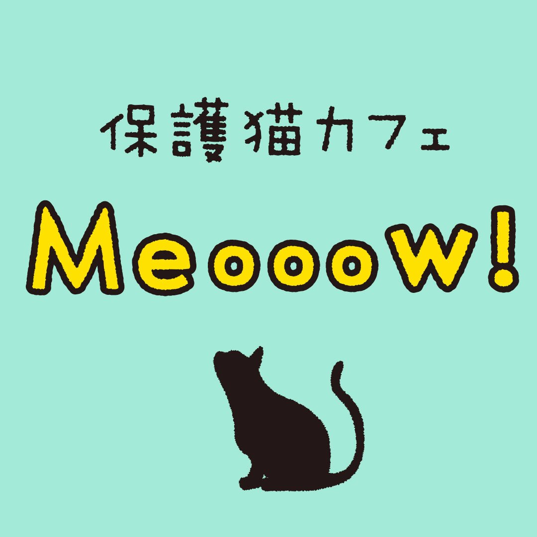 保護猫カフェ『Meooow!』 (@meoo...