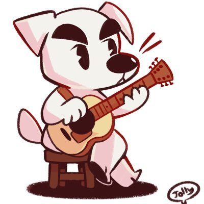 how to draw animal crossing k.k slider