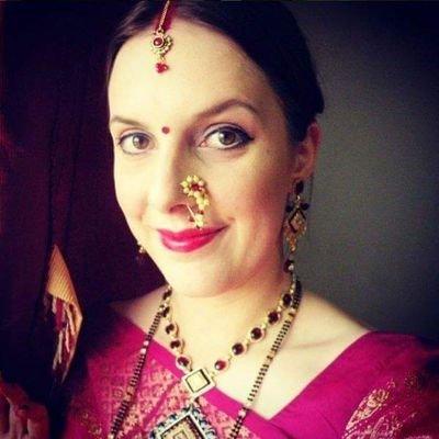Lauren English Wife On Twitter My Marathi Baby Shower Dohalaa