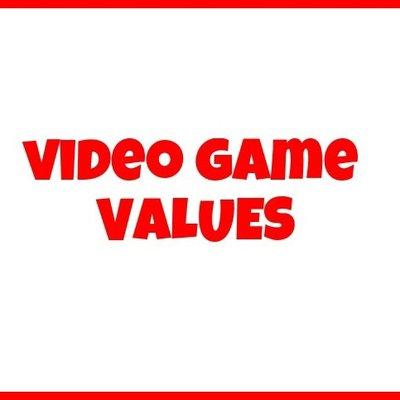 Video Game Values >> Video Game Values Videogamevalues Twitter