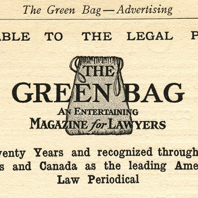 Image result for green bag 2d law review