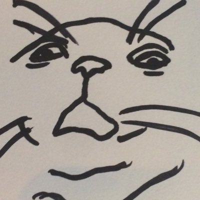 poorly drawn cats (@poorlycatdraw) Twitter profile photo