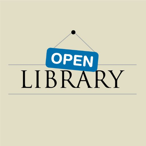 Open Library (@openlibrary) | Twitter