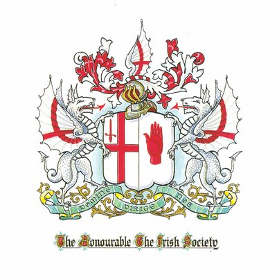 Image result for the honourable the irish society logo