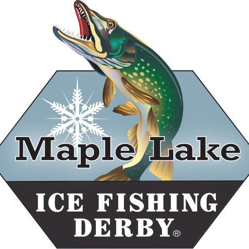 Ml ice fishing derby maplelakederby twitter for Mn ice fishing regulations