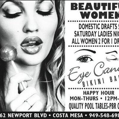 Eye candy bikini bar