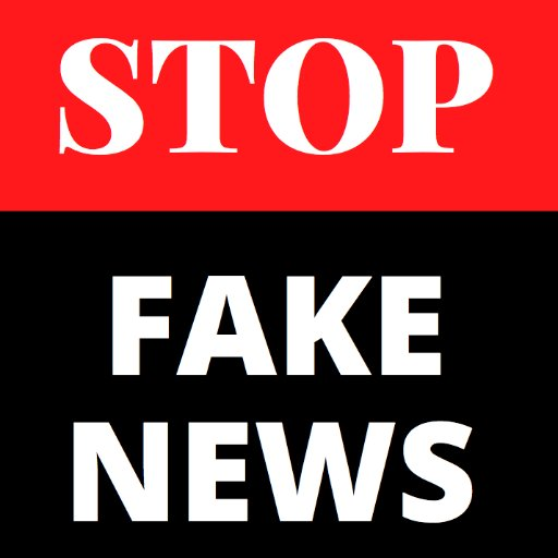 "Image result for Stop the ""fake news"""