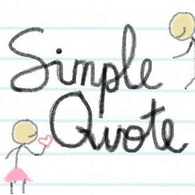 Simple Quote Simplequote Twitter Extraordinary Simple Quote