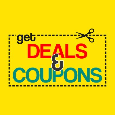 Get Deals & Coupons on Twitter: