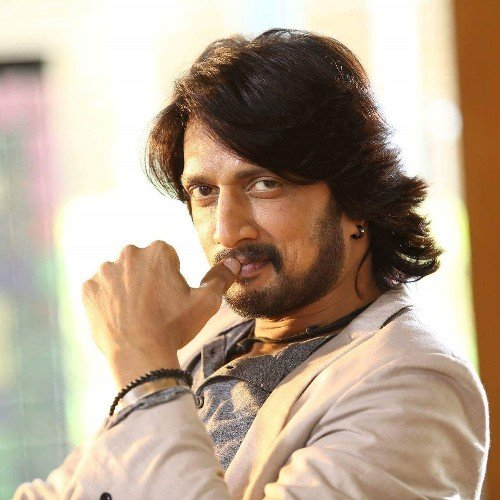 Kiccha Sudeep meets HD Kumaraswamy at HDK's residence