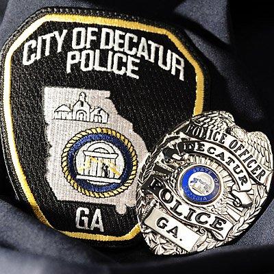 Decatur Police GA (@cityofdecaturpd) Twitter profile photo