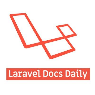 Laravel Docs Daily (@laradocsdaily) | Twitter