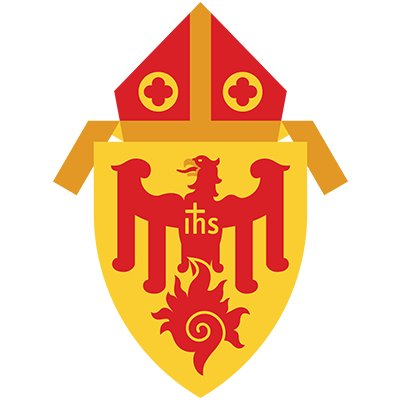 Archdiocese of Chicago Catholic church logo.