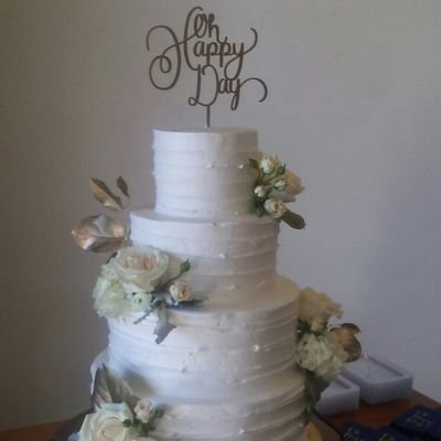 Amy Pittman Heglund On Twitter Ombre Buttercream Wedding Cake With