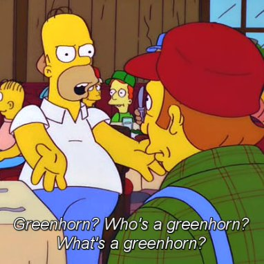 He Called Me Greenhorn