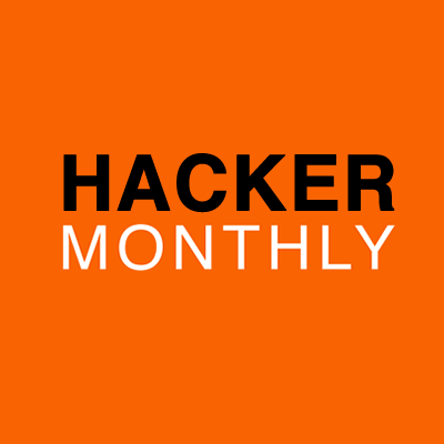 hacker monthly hackermonthly twitter
