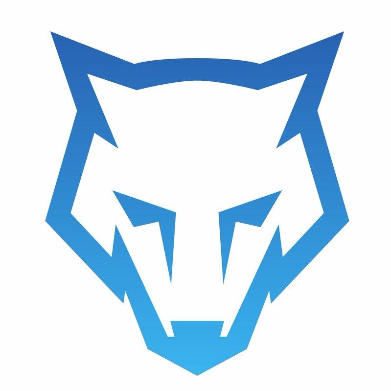 bluewolf   bluewolf244  twitter Wolf Head Clip Art Wolf Head Outline