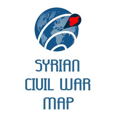 Syrian Civil War Map CivilWarMap Twitter - Civil War Map Of Us
