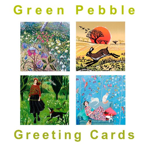 Green Pebble Cards