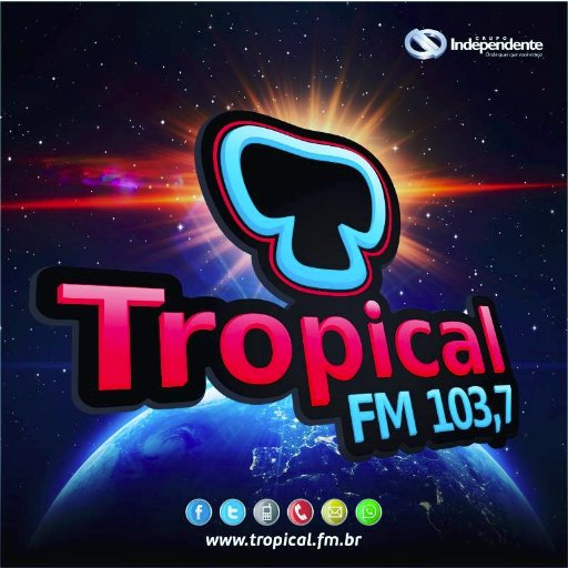 Tropical FM 103,7 Social Profile