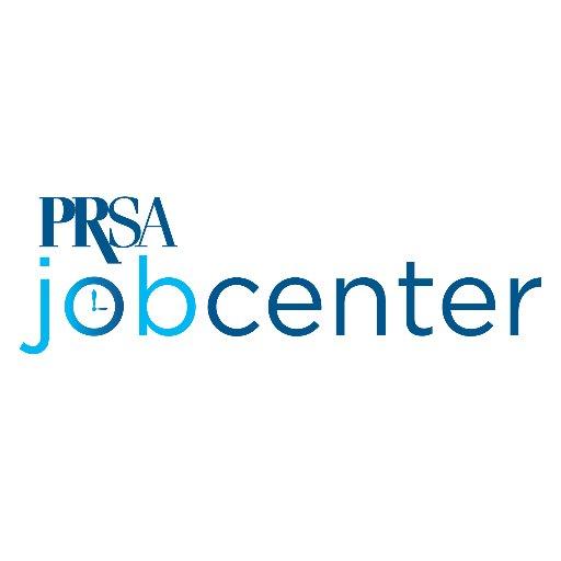 @PRSAjobcenter