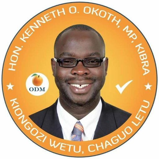 Kenneth Okoth, MP Kibra
