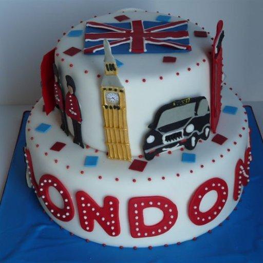 Cream Birthday Cakes London