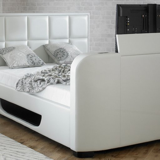 Astounding Tv Bed On Twitter Introducing The Beautiful Vogue Ottoman Andrewgaddart Wooden Chair Designs For Living Room Andrewgaddartcom