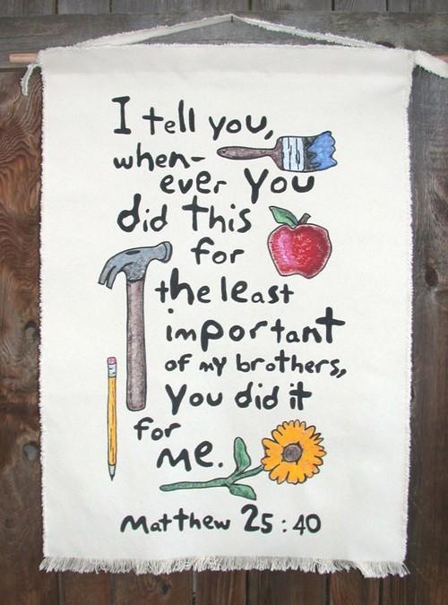 Matthew 25:40 (@Matthew25_40) | Twitter